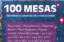 [La Plata] 17/6 Libres del Sur realizará #100MESAS en la ciudad