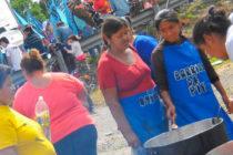 Ollas Populares en todo el país reclamando la Emergencia Social