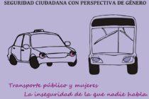 [Santa Fe] Mujeres y Transporte Público. La inseguridad de la que nadie habla. Informe