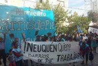 [Neuquén] 28/6 Barrios de Pie se moviliza a Desarrollo Social del municipio