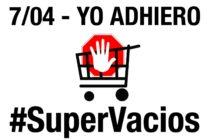 Basta de inflación y suba de precios! Hoy nos sumamos a la jornada de #SuperVacíos