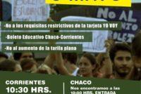 [Corrientes] 6/5 Estudiantes reclamarán este viernes un boleto interprovincial