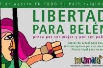 El 12 de agosto en todo el país exigimos Libertad Para Belen