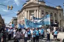 [Corrientes] Se movilizaron contra la reforma previsional