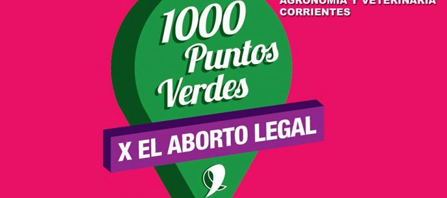 [Corrientes] Puntos verdes por el aborto legal, seguro y gratuito