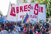 [Mar del Plata] Más de 500 militantes y adherentes políticos y sociales movilizaron con Libres del Sur