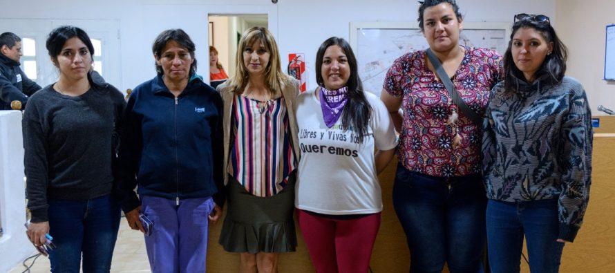 [Plottier] Declararon de interes municipal el Día de la No Violencia hacia la Mujer