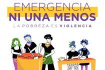 30 de Mayo ollas populares  en todo el país. Emergencia Ni Una Menos.