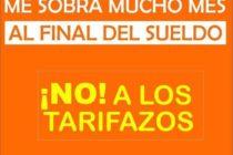[Córdoba] Concentración de vecinos contra el tarifazo