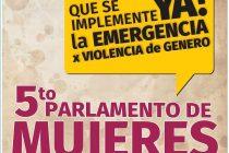 [La Plata] 22/11 5to. Parlamento de Mujeres