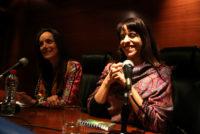 Malena y Victoria juntas por la paridad en la política
