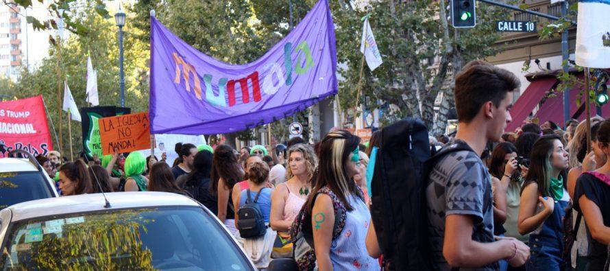 [La Plata] Contundente Paro Internacional de Mujeres