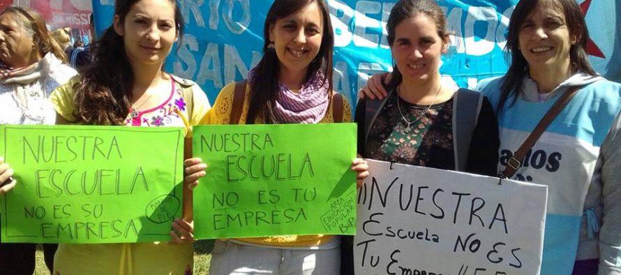 [La Plata] Para Vidal la educación es una variable de ajuste