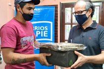 [Chaco] Barrios de Pie fortalece la labor de trabajadores y trabajadoras de la Economía Popular.