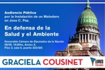 Cousinet convoca a Audiencia Pública por instalación de matadero