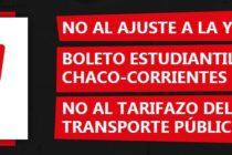 [Corrientes] Convocan a movilización por el Boleto Estudiantil Gratuito