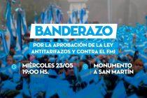 """[Neuquén] Escobar: """"Macri miente, en la Patagonia no derrochamos energía"""" Hoy Banderazo"""