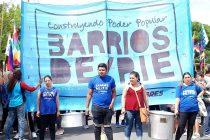 [La Plata] Barrios de Pie se moviliza al Ministerio de Desarrollo Social bonaerense
