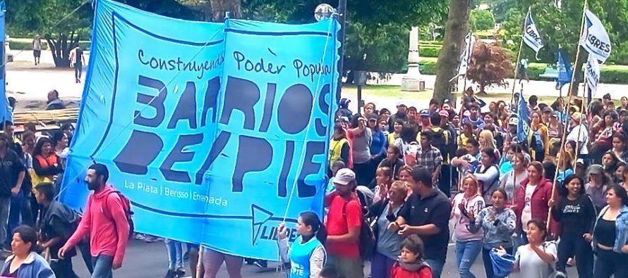[La Plata] Barrios de Pie le reclama a Vidal alimentos y asistencia para los comedores y merenderos de los barrios bonaerenses.