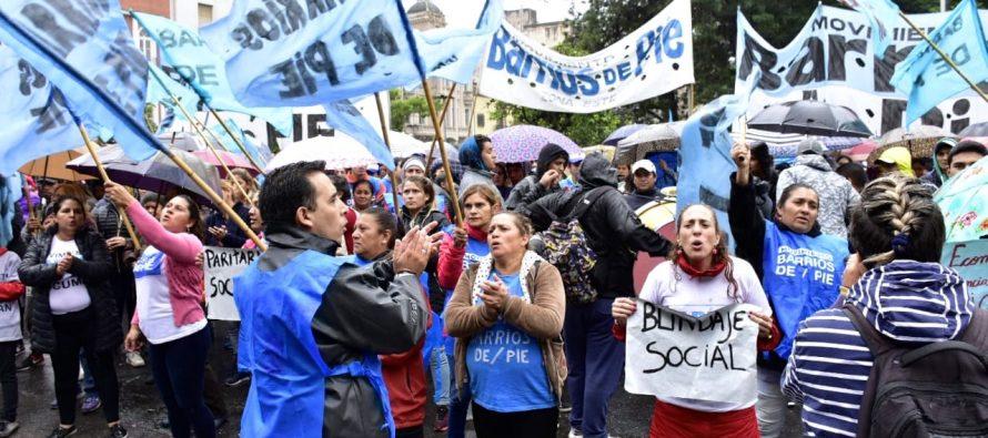 [Tucumán] Jornada de protesta del movimiento Barrios de Pie