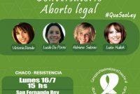 [Chaco] Actrices y diputadas nacionales visitarán Resistencia por aborto legal