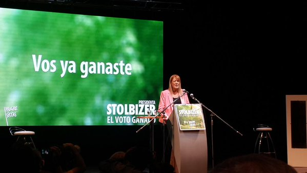Stolbizer cerró su campaña