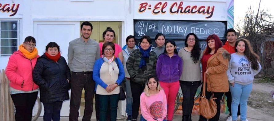 [Plottier] Carlos Javier Lopez: Vamos por las obras que faltan en el barrio El Chacay