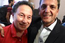 Jorge Ceballos fue invitado a la conferencia que brindaron Massa y Stolbizer