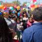 Jorge Ceballos con promotoras de salud en Virrey del Pino