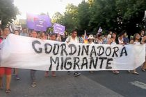 [La Plata] Coordinadora Migrante se moviliza a la legislatura provincial
