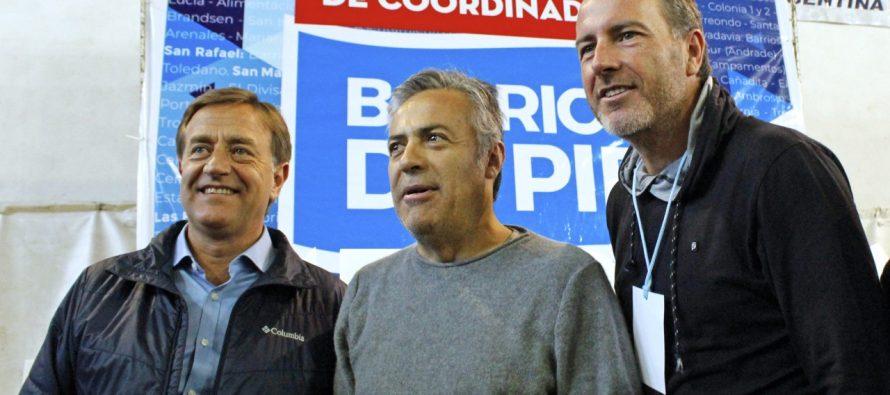 [Mendoza] Cornejo y Suárez en el Encuentro Provincial de Barrios de Pie
