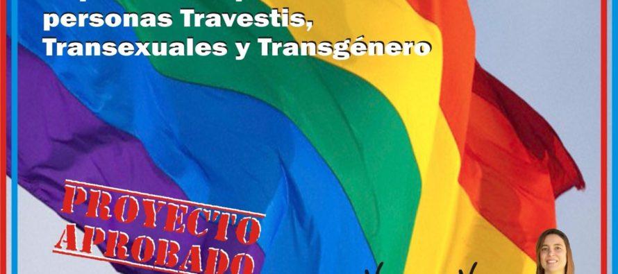 [Mendoza] Las Heras, primer Departamento en aprobar el Cupo Laboral Trans
