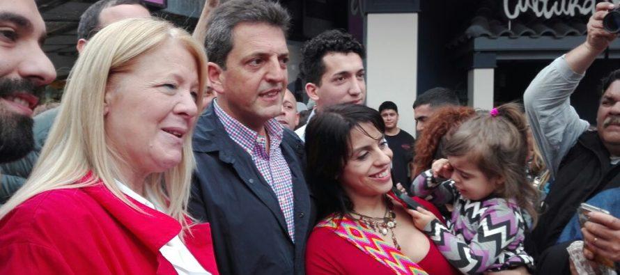 [Lomas de Zamora] Massa, Stolbizer y Donda recorrieron las calles