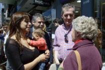 [CABA] Victoria Donda y Manuel Garrido de campaña en Belgrano y Villa Urquiza