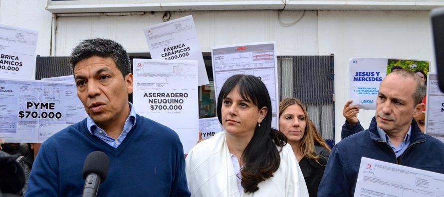 [Neuquén] Jesús Escobar pidió información a Camuzzi