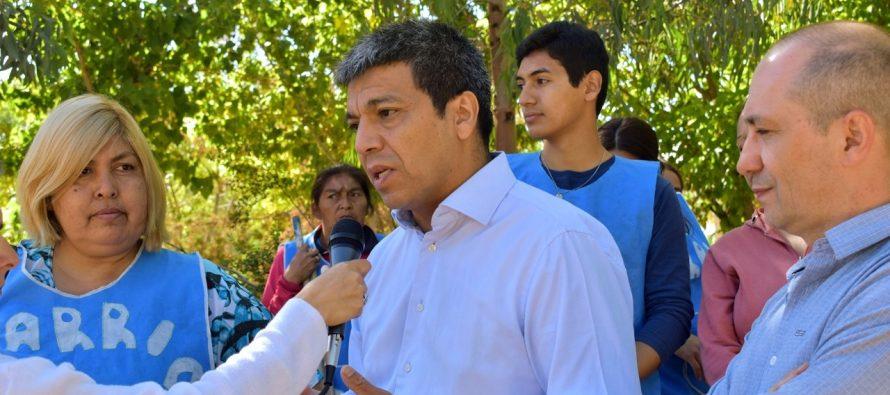"""[Neuquén] Jesús Escobar: """"Los recursos del Estado tienen que estar al servicio de la comunidad"""""""