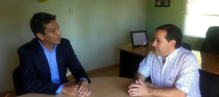 """[Neuquén] Jesús Escobar: """"Gestionamos soluciones edilicias para dos escuelas de Vista Alegre"""""""