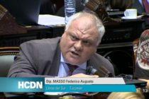 Masso pidió tratar prohibición de despidos y emergencia social