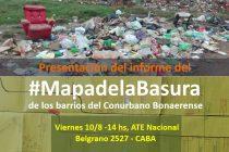 Presentacion Mapa de la Basura en los Barrios del Conurbano Bonaerense