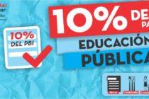 Exigen el 10% del PBI para la educación pública
