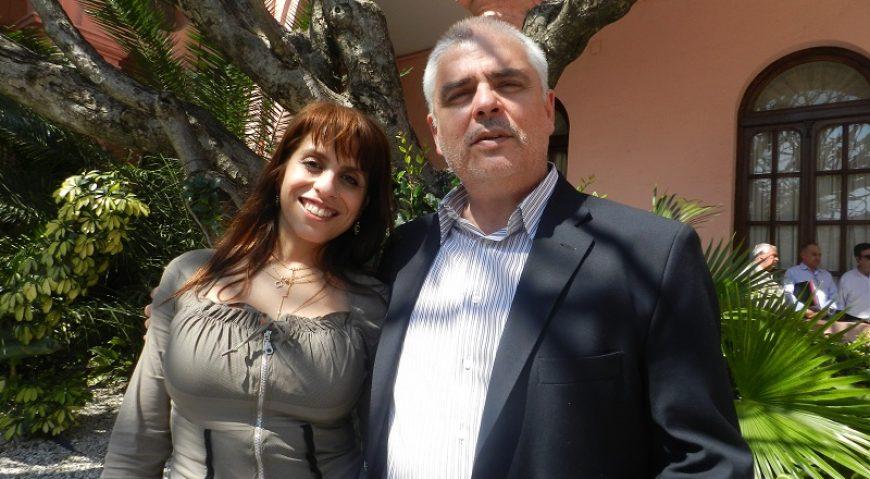 Victoria Donda y Gabriel Romero