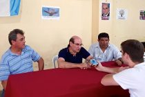 [Bs. As.] Humberto Tumini de campaña en Chivilcoy
