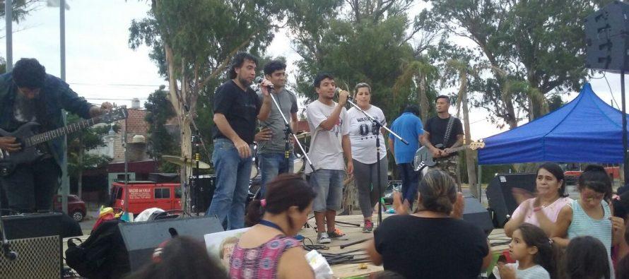 [San Fernando] Se realizó un festival para que continúen las obras de la EP 5 y EES 19