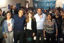 [Neuquén] Jesús Escobar y Magdalena Odarda participaron juntos del plenario patagónico de Barrios de Pie