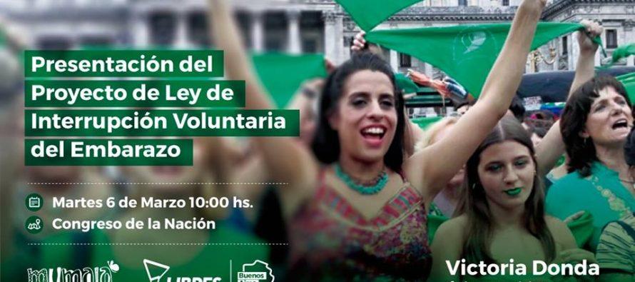 """[La Matanza] Sandra Oviedo """"Vamos a acompañar el proyecto de Interrupción Voluntaria del Embarazo"""""""