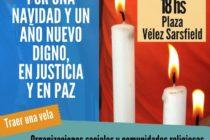[Córdoba] Movimientos sociales y comunidades religiosas convocan a una marcha