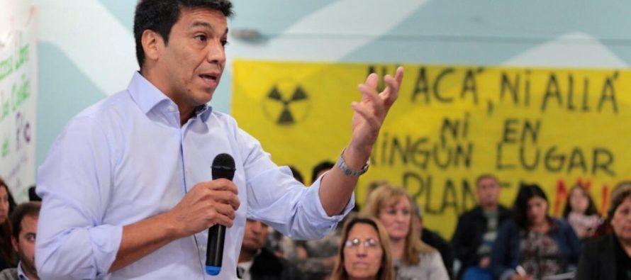 """[Neuquén] Jesús Escobar: """"Defendemos la ley de glaciares"""""""