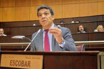 """[Neuquén] Jesús Escobar: """"La quita de impuestos a la tarifa de gas beneficiará también a comercios y Pymes"""""""