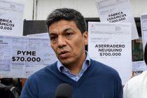 """[Neuquén] Jesús Escobar: """"Tiene que quedar sin efecto el aumento del EPAS"""""""