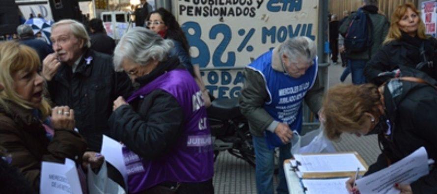 Declaración de los jubilados: ¡aumento de emergencia ya!